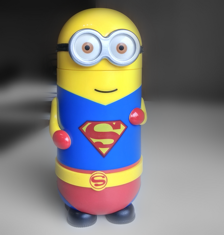 Minions Superman Water bottle