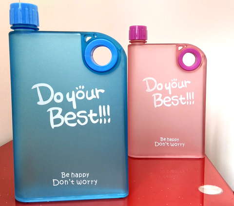 Portable Notebook Water Bottle