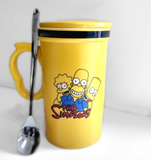 Buy The Simpsons Coffee Mug: Daily Online at Low Prices in India funcy unique
