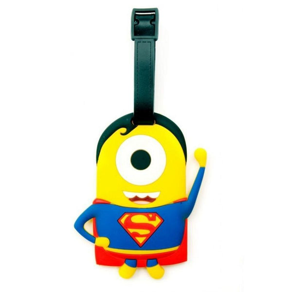 Minions Superman Luggage Tag