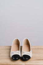Camille Flats in Cream
