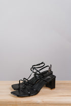 Aubrey Strappy Heels in Black