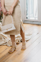 (BACKORDER CLOSED) Poppy Heels in Nude