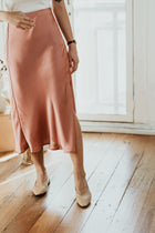 Tracy Pointed Flats in Nude