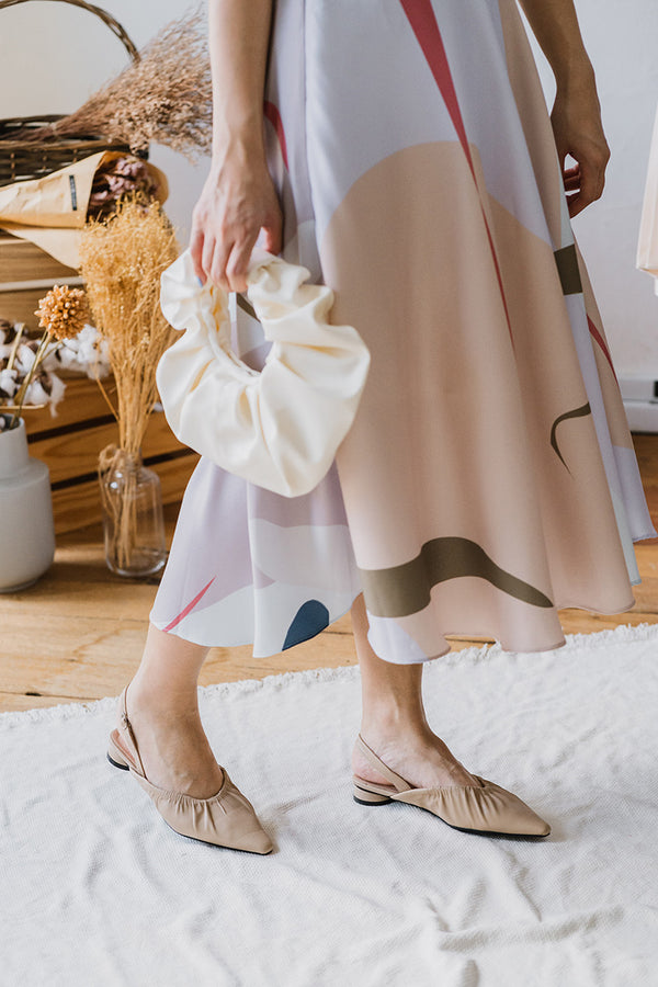 Avery Flats in Nude