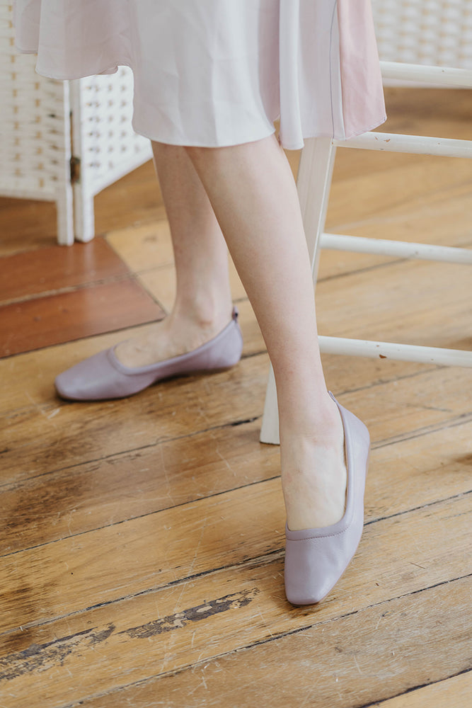 Yui Flats in Lilac