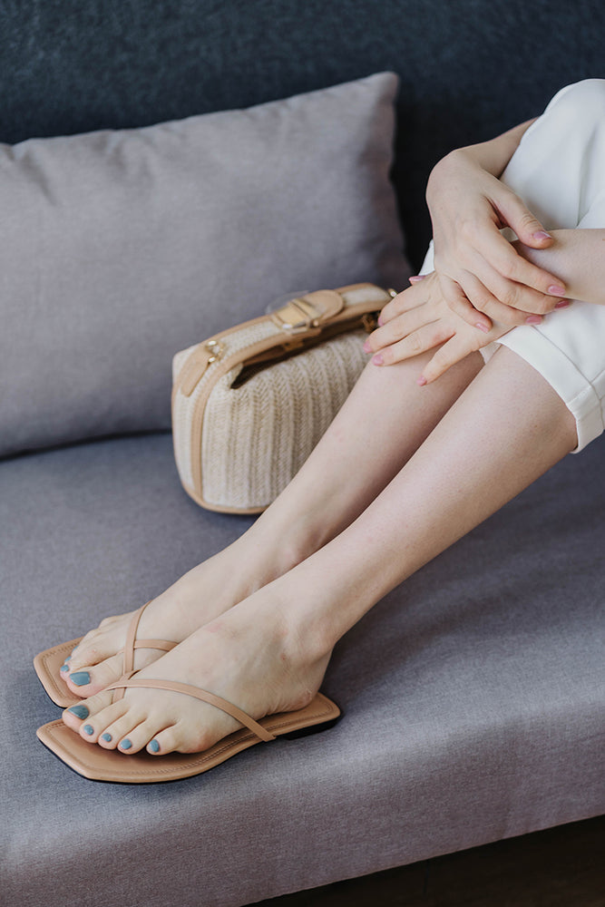 Coogee Sliders in Nude