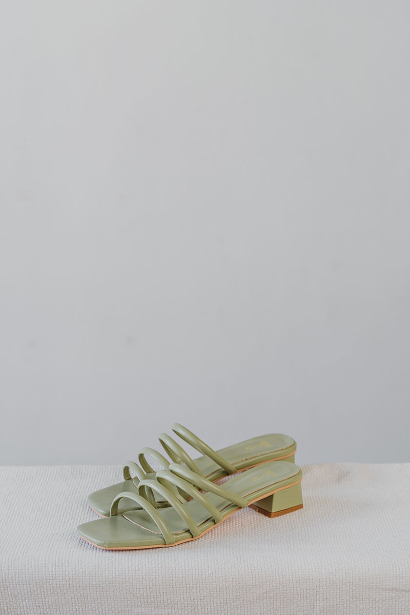 Zara Sliders in Sage