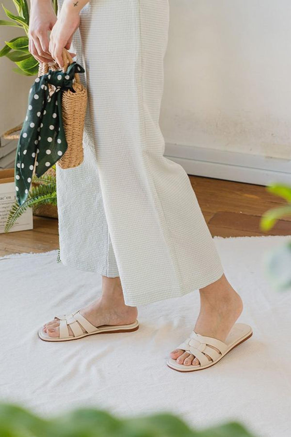 Bondi Sliders in Cream