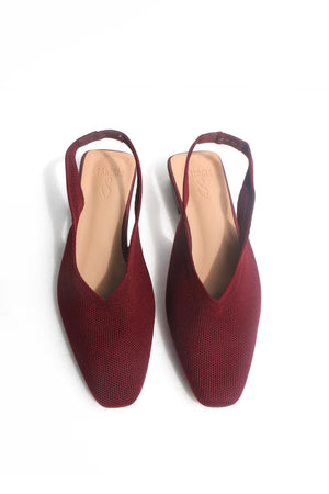 Load image into Gallery viewer, Chelsea Flats in Wine
