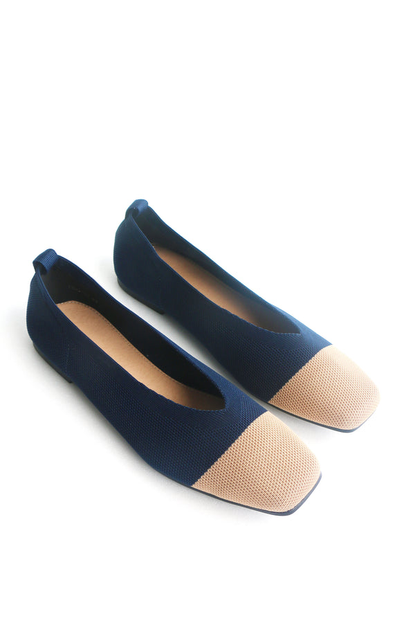 Coco Flats in Navy