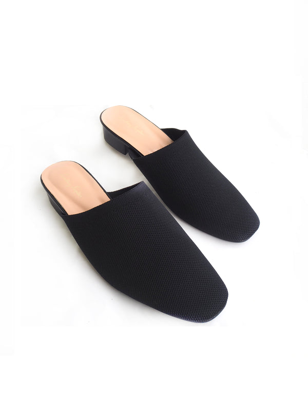 Stella Slip-on Flats in Black