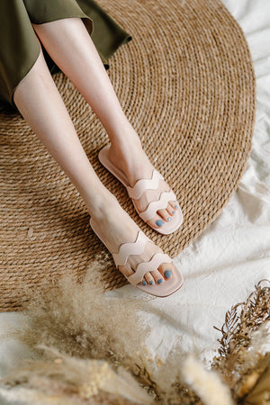 Lula Sliders in Cream