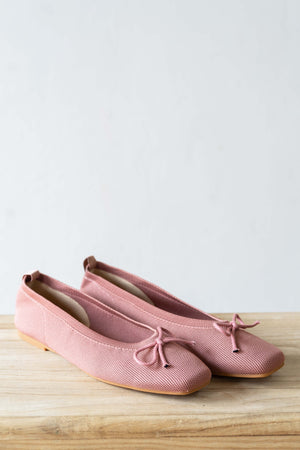 Load image into Gallery viewer, Ballet Flats in Rose