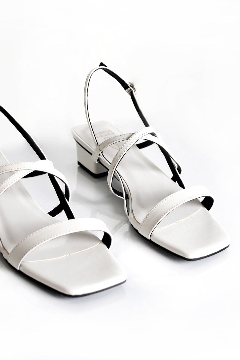 Taylor Sandals in White