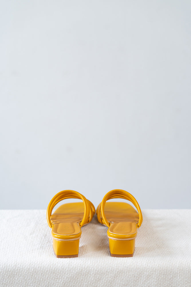 Load image into Gallery viewer, Zara Sliders in Mustard