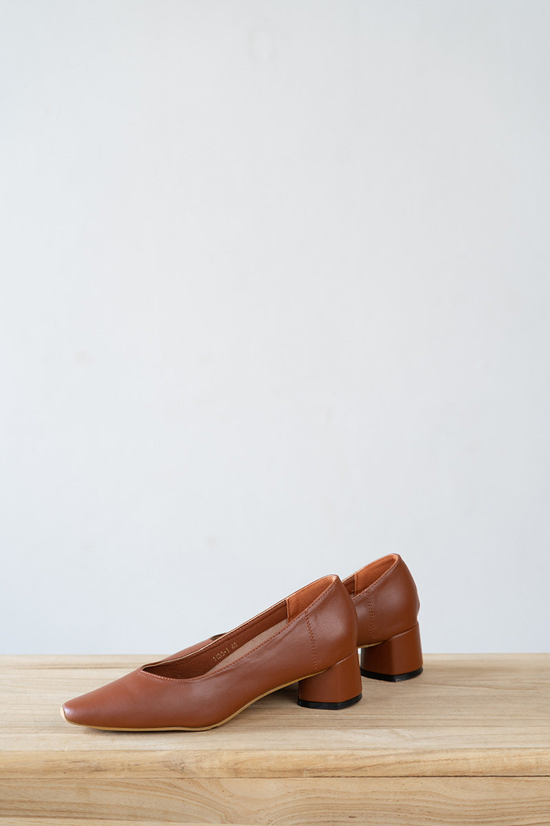 Maddison Heels in Coffee