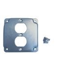 Guardian Enclosures™ 4x4 Single Duplex Receptacle Cover Plate