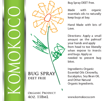 Bug Spray DEET - Free