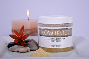 Lemon Explosion Body Scrub