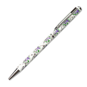 Scottish Thistle Sparkle Pen