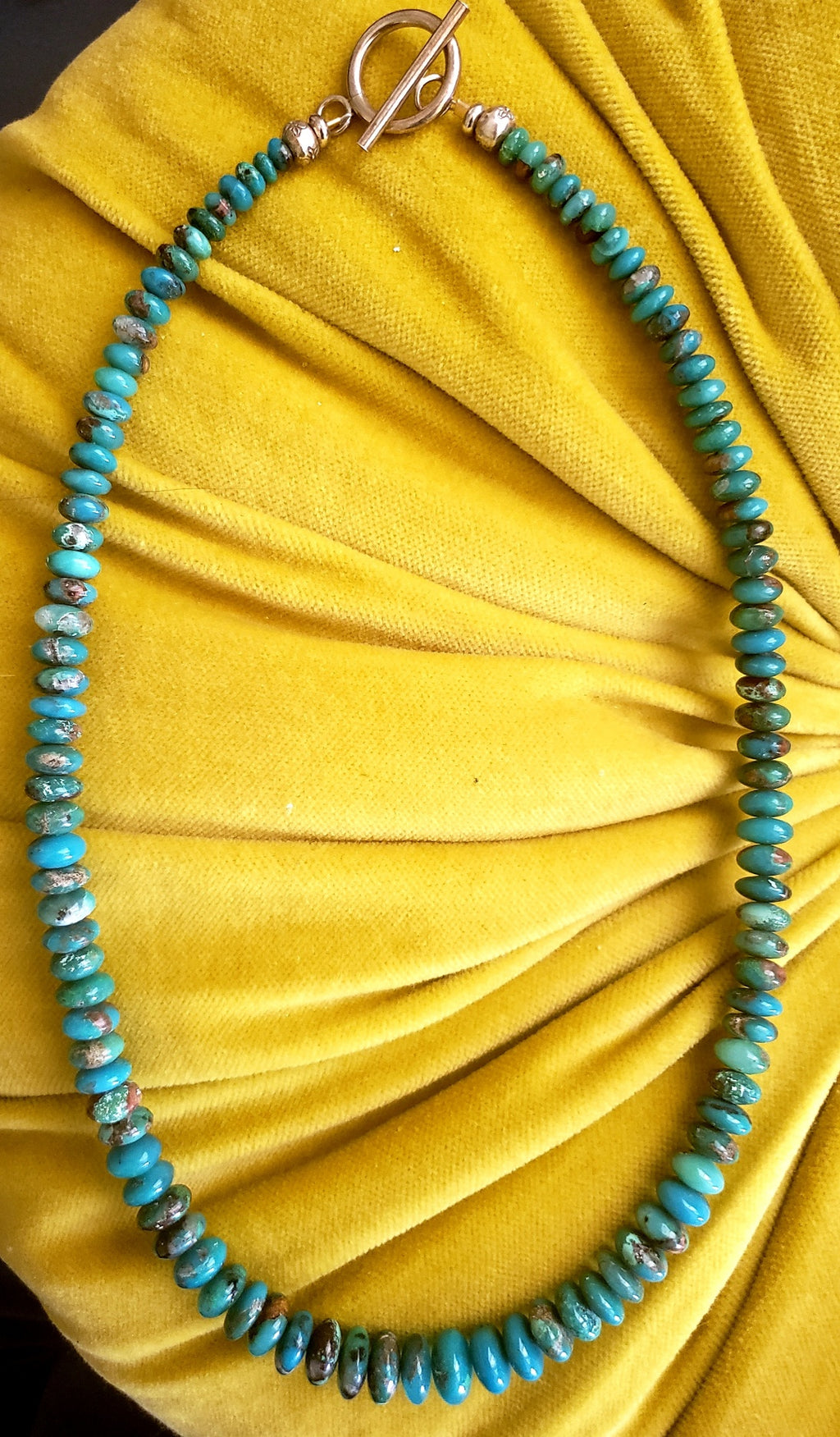 Stone Muse Magick-Turquoise Beaded Necklace