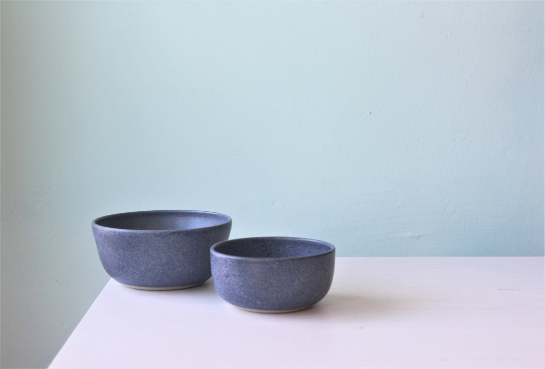 LK Ceramic breakfast bowl denim