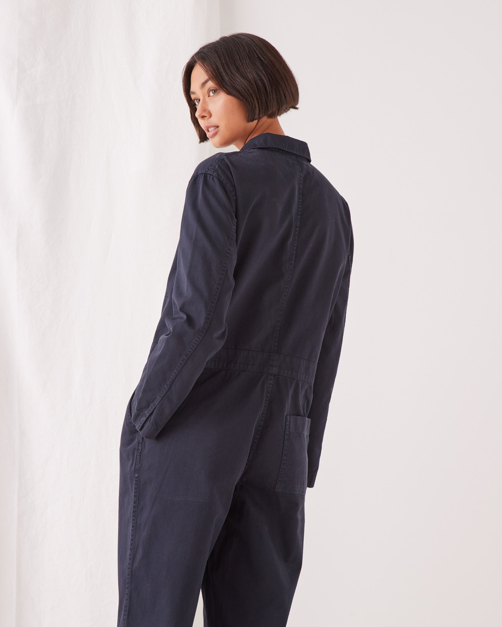 Harper Boilersuit True Navy