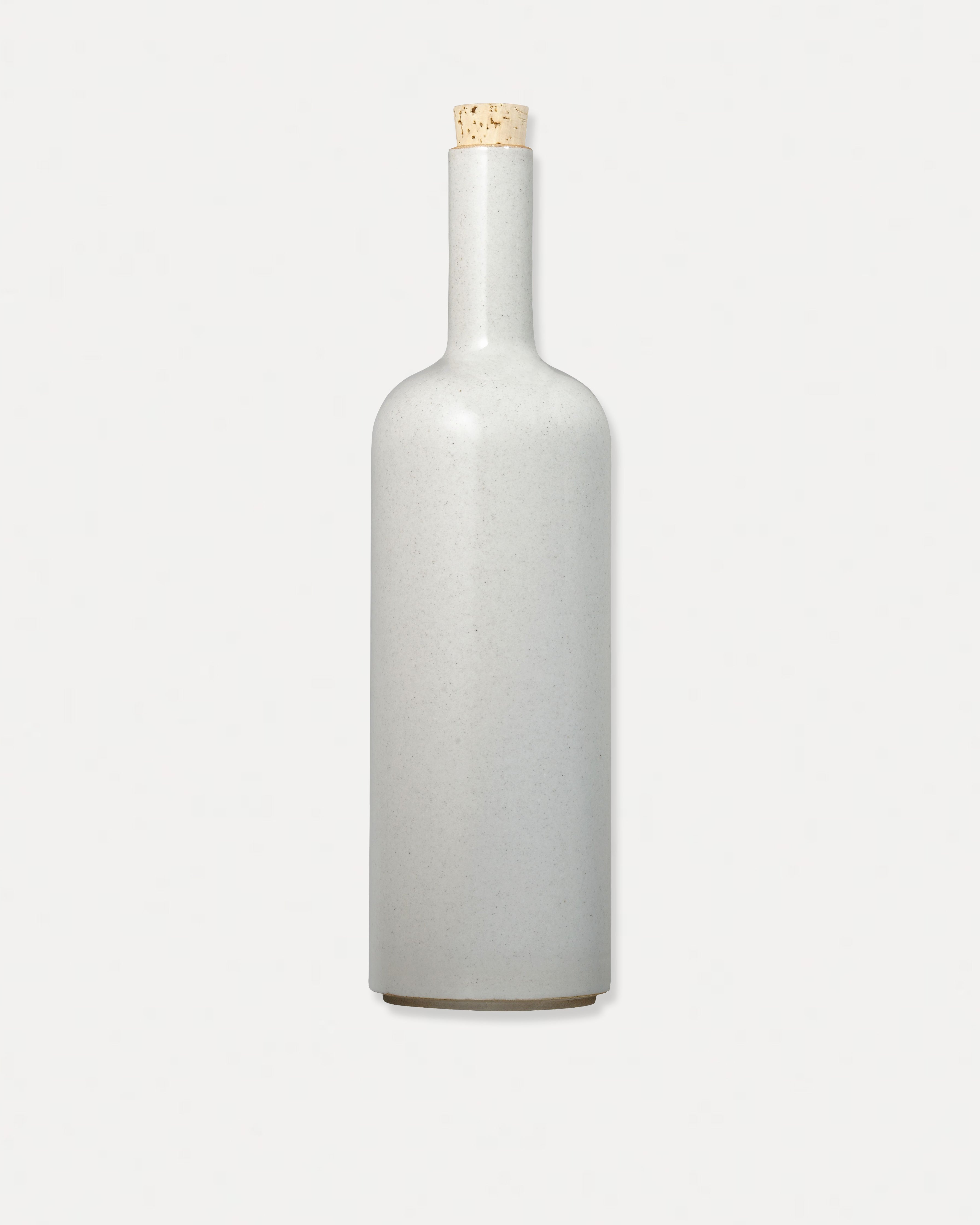 Hasami Porcelain Bottle Gloss Gray