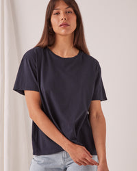 The Crew Tee True Navy