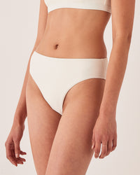 High Waist Brief Ivory