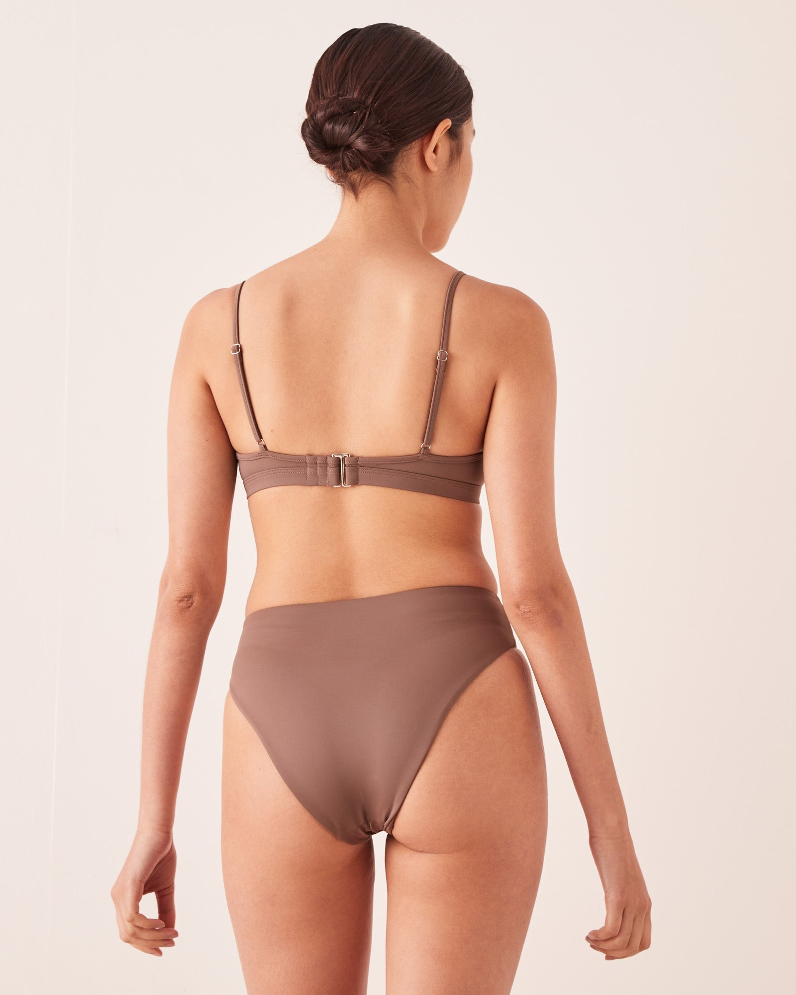 High Waist Brief Sable