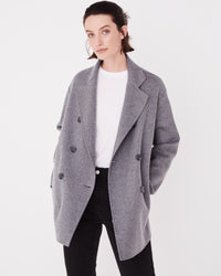 Una Coat Grey Marle