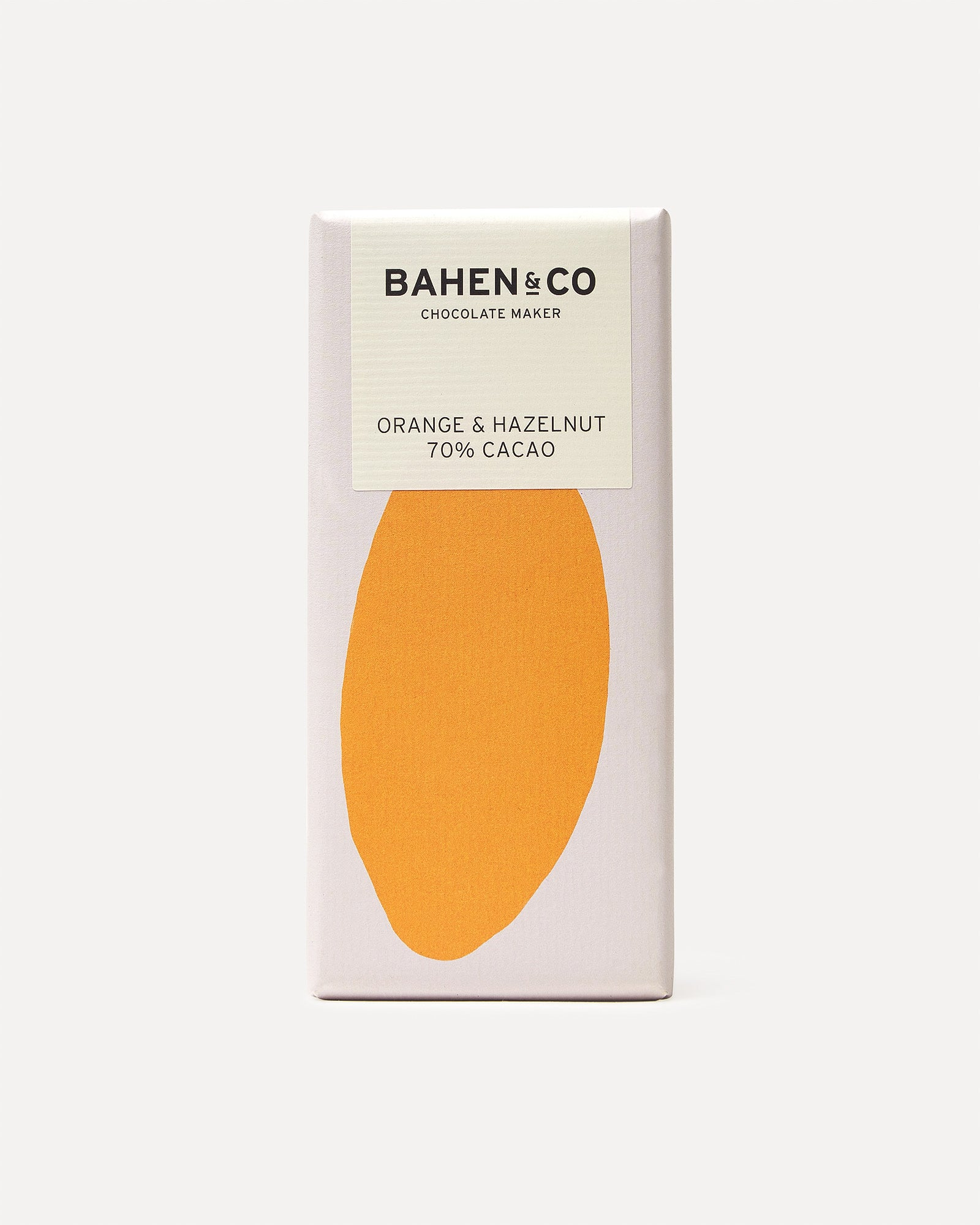 Bahen & Co Hazelnut & Orange 70%