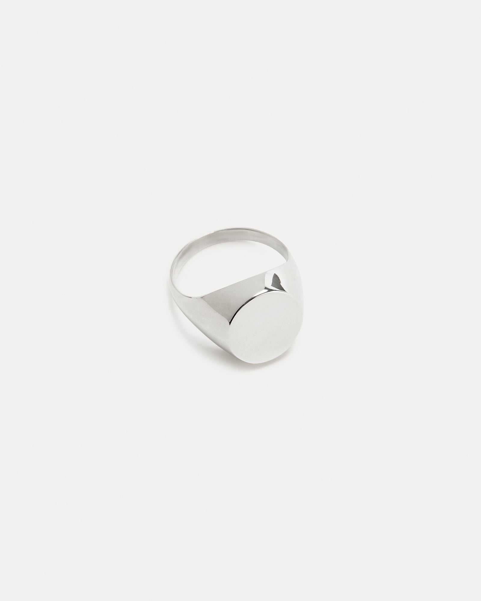 Silver Pinky Signet Ring Holly Ryan