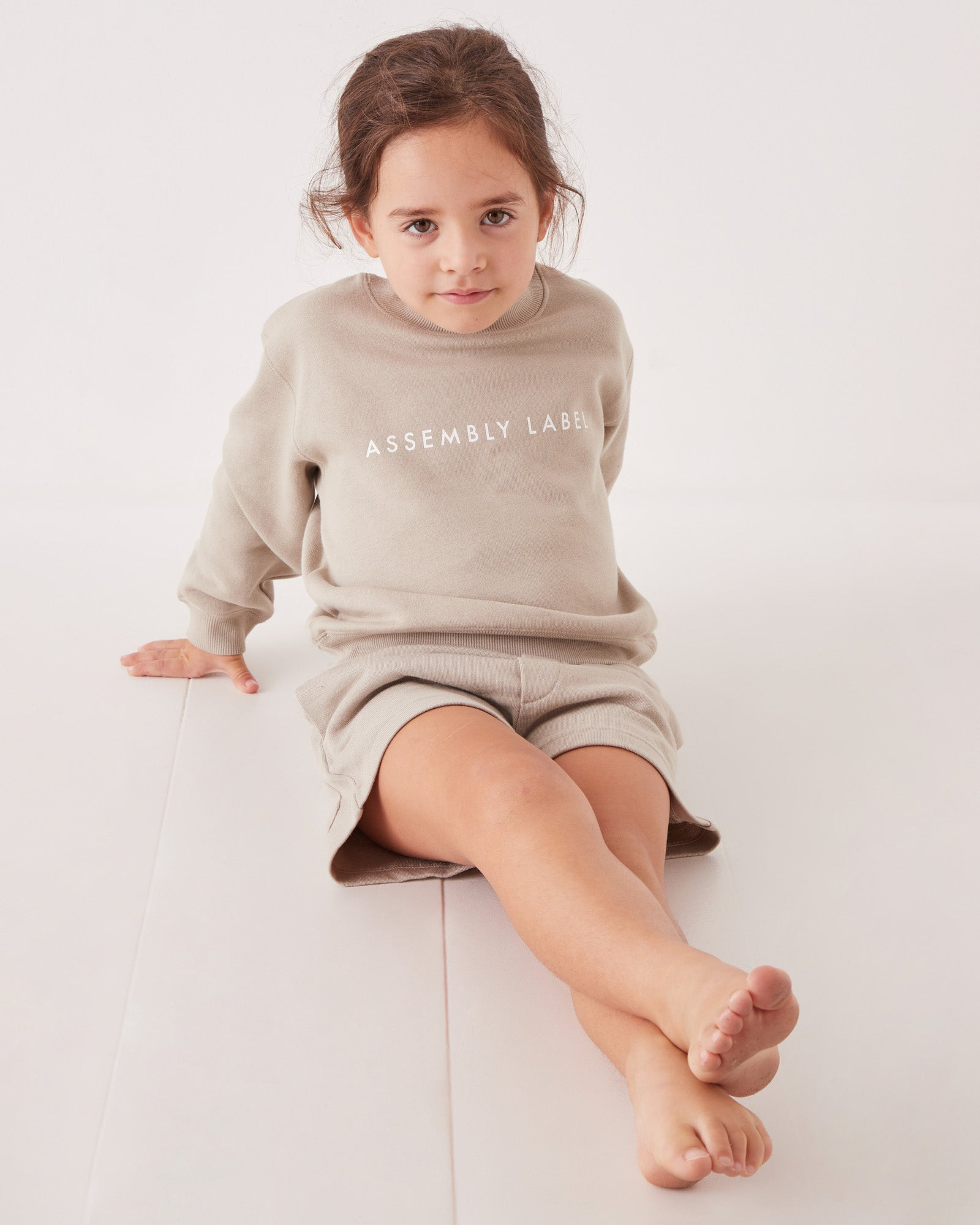 Kids Logo Fleece Jumper