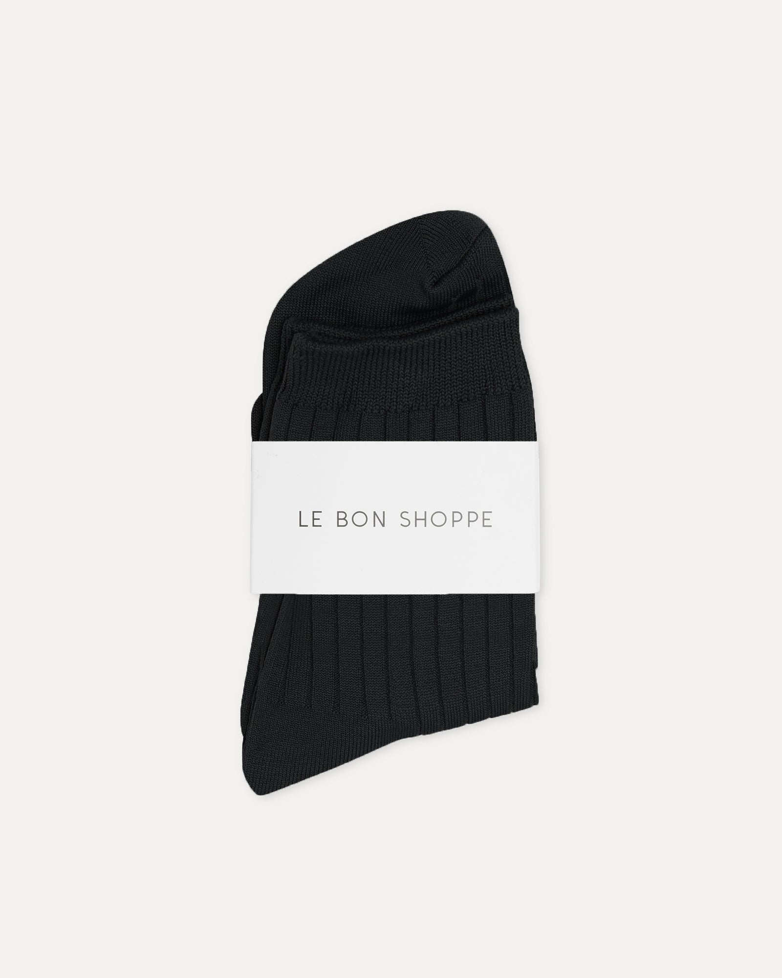 Le Bon Shoppe - Her Sock True Black