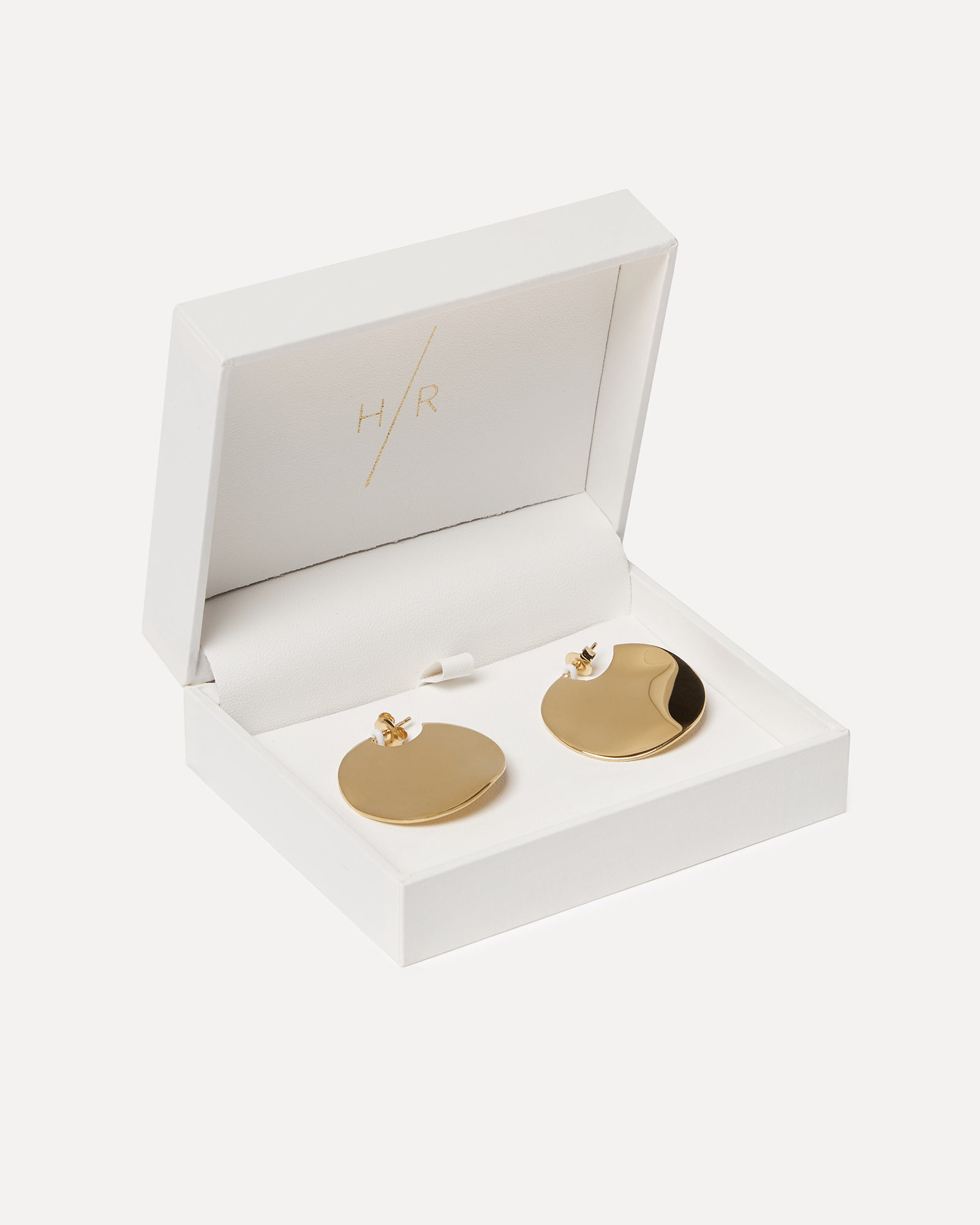 Holly Ryan Gold Wavee Earrings Small