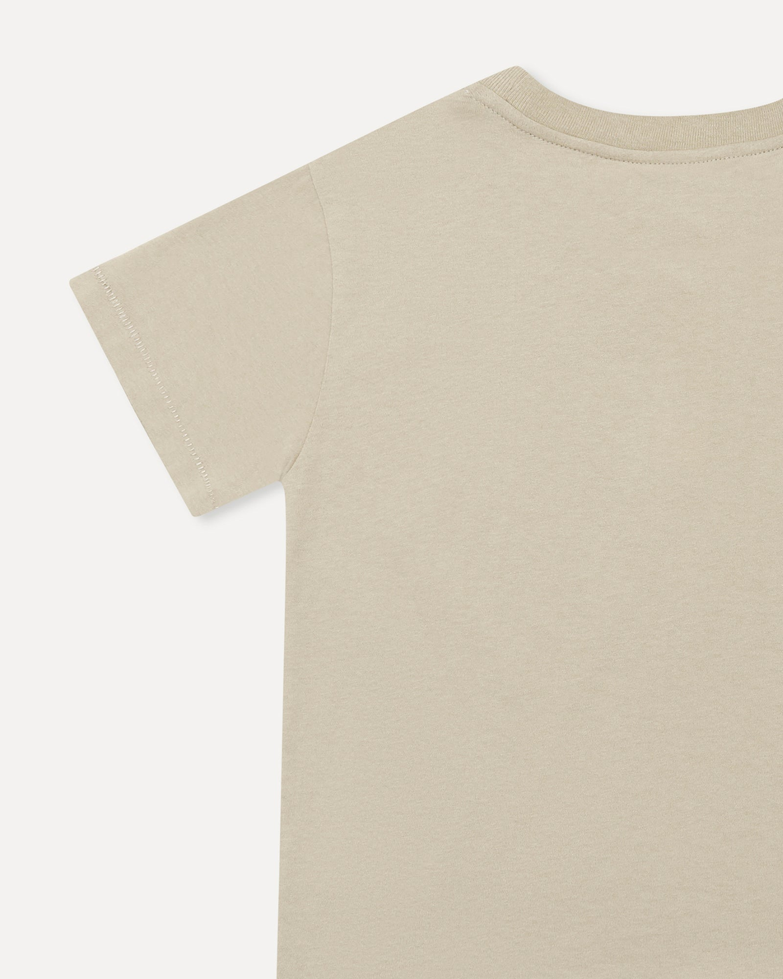 Kids Logo Tee Washed Khaki
