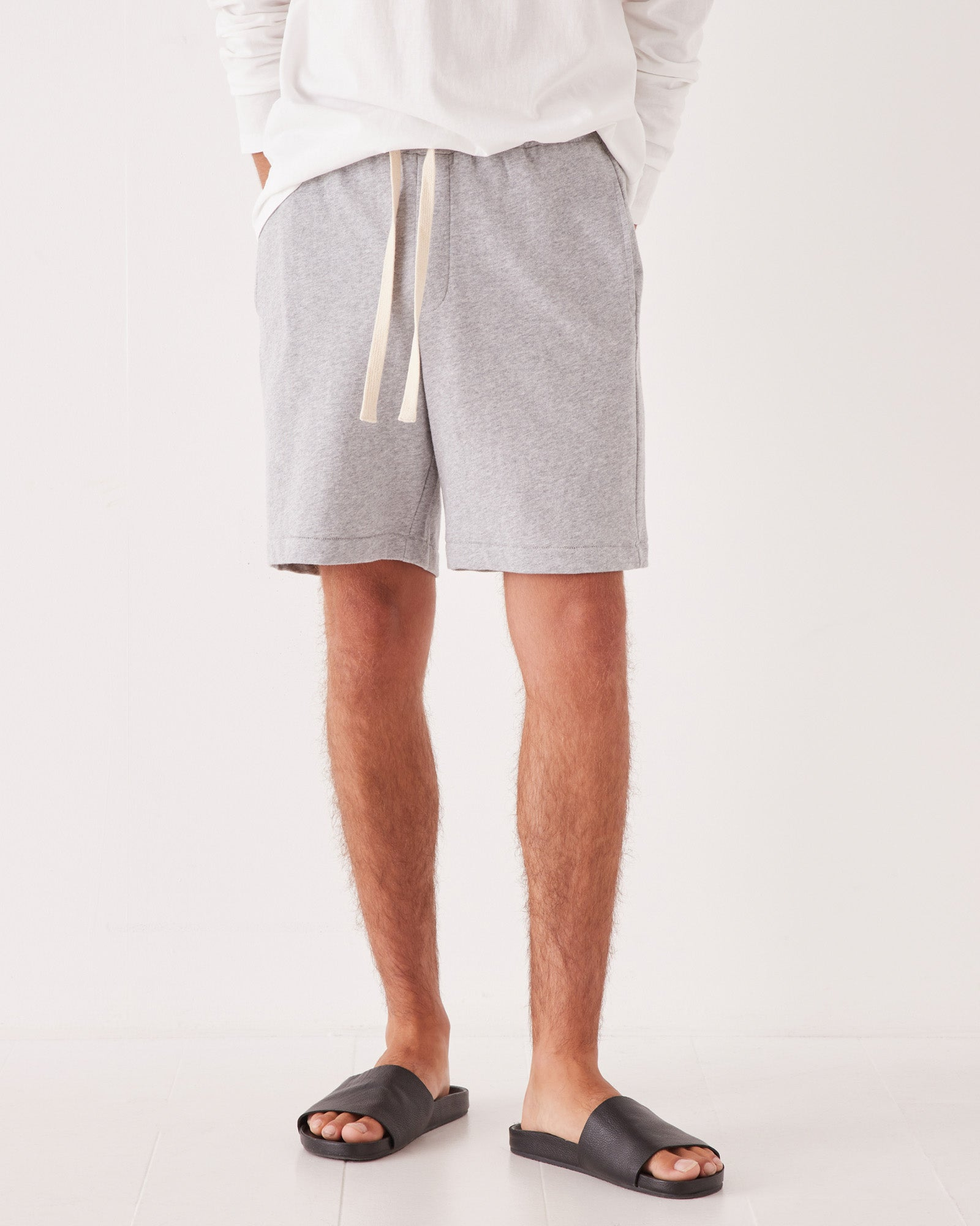 Lennox Lounge Short Grey Marle