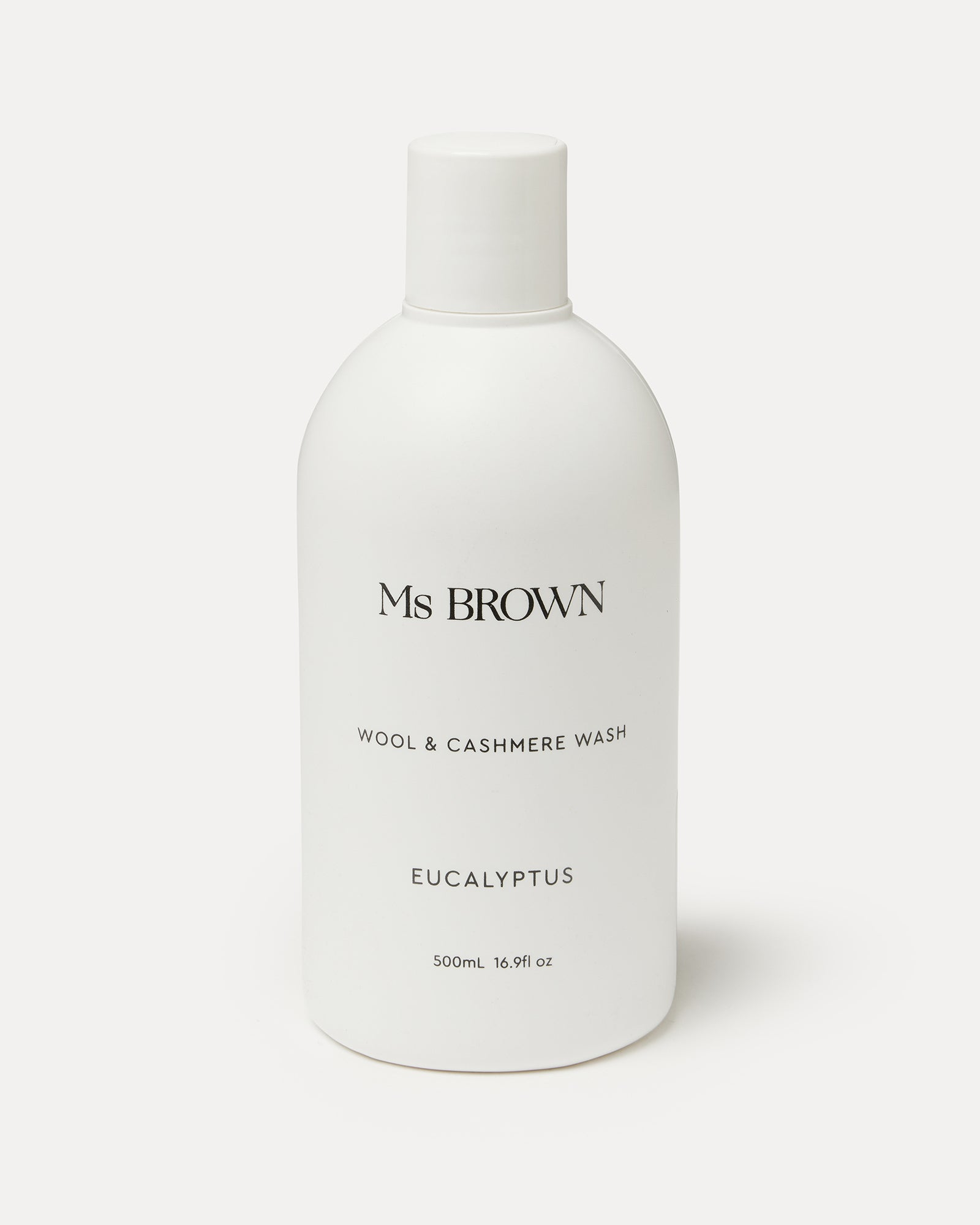 Ms Brown Wool & Cashmere Wash Eucalyptus