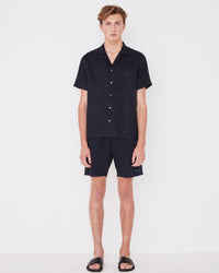 Malibu Linen Shirt True Navy