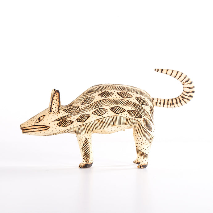 Wooden Animal with Diamond Decorations