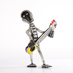 Standing Monkey with Long Guitar