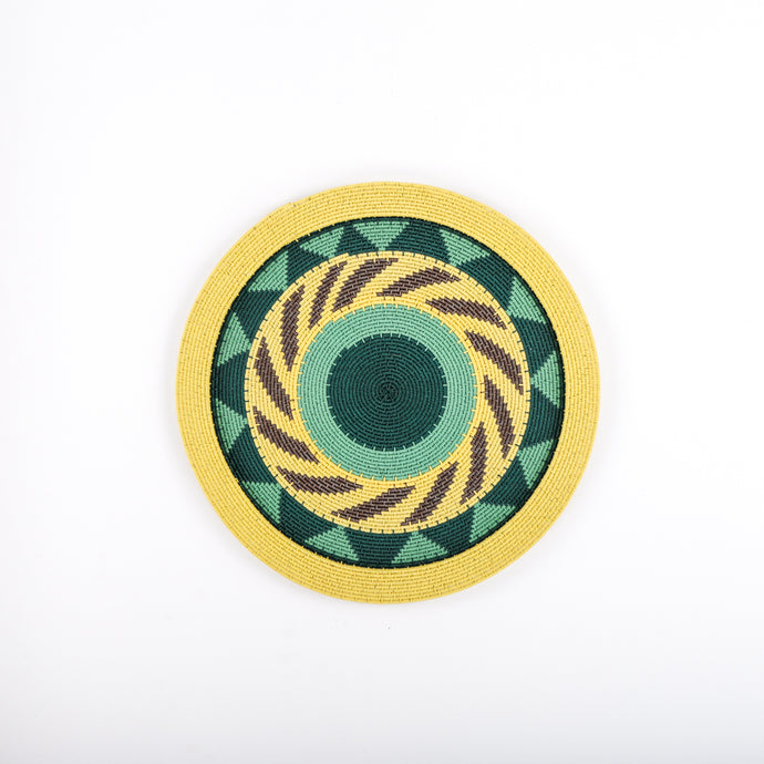 Yellow and Bright Colours Plate