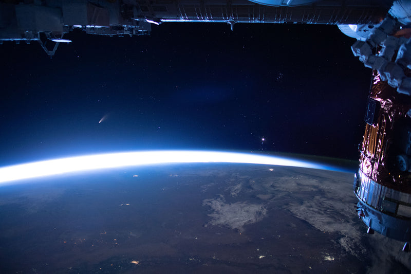 COMET NEOWISE: A Breathtaking View from the International Space Station