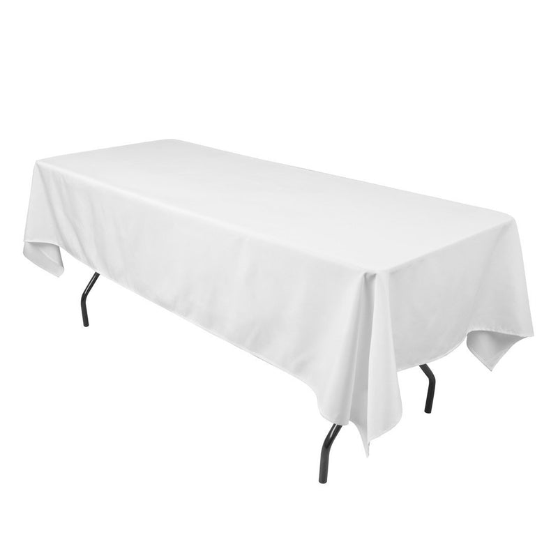 """DII  Restaurant Quality White Tablecloth ~ 60 x 102/""""     ~~NEW~~"""