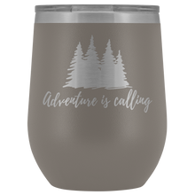 """Adventure is Calling"" Wine Tumbler"