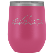 """Chase The Wave"" Wine Tumbler"