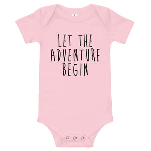 Let The Adventure Begin Onesie